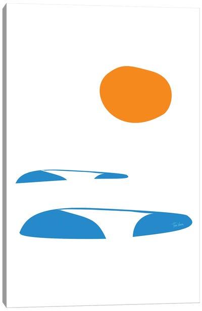 Serie ao Fundo Canvas Art Print