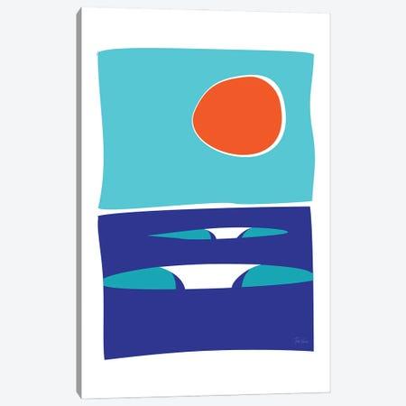 Summer Canvas Print #TVE71} by Tom Veiga Canvas Art
