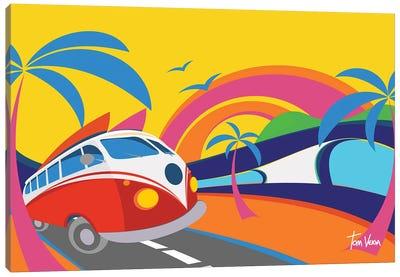 Surf Trip Canvas Art Print