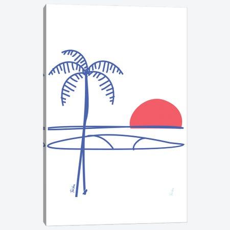Surfing Canvas Print #TVE74} by Tom Veiga Canvas Art Print