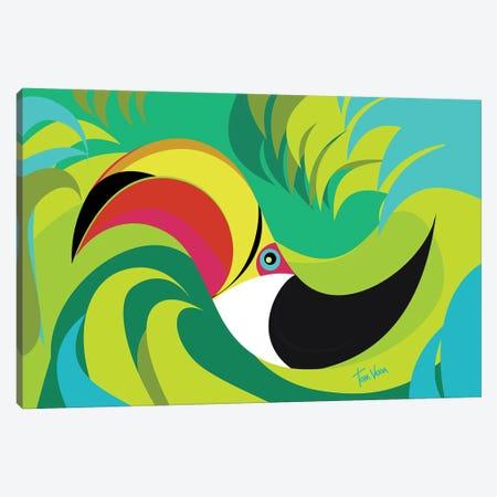 Tucano Canvas Print #TVE75} by Tom Veiga Art Print