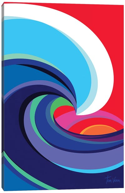 Big Wave Canvas Art Print