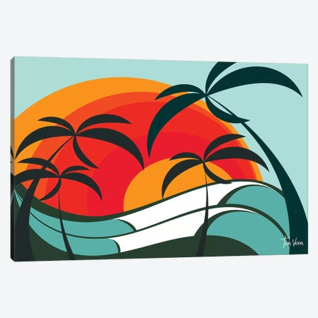 Bora Viver Canvas Print #TVE8} by Tom Veiga Canvas Artwork