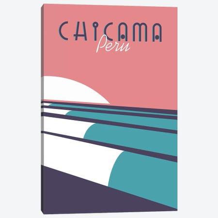 Chicama Canvas Print #TVE9} by Tom Veiga Canvas Wall Art