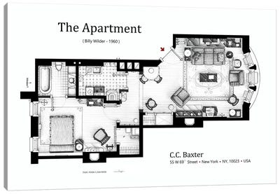 The Apartment From The Apartment Canvas Art Print