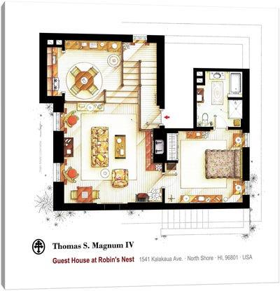Residence Of Magnum P.I. - Main Floor Canvas Art Print
