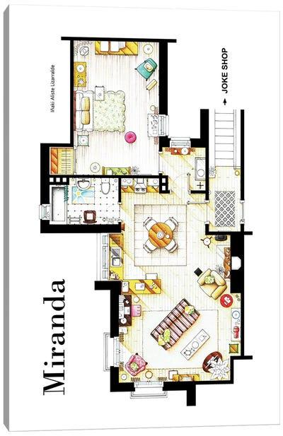 Apartment From BBC's Miranda Series Canvas Art Print