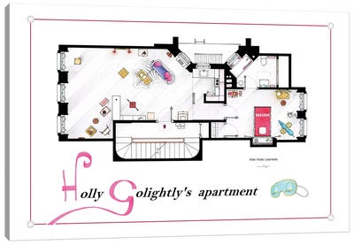 Apartment From Breakfast At Tiffany's Canvas Art Print