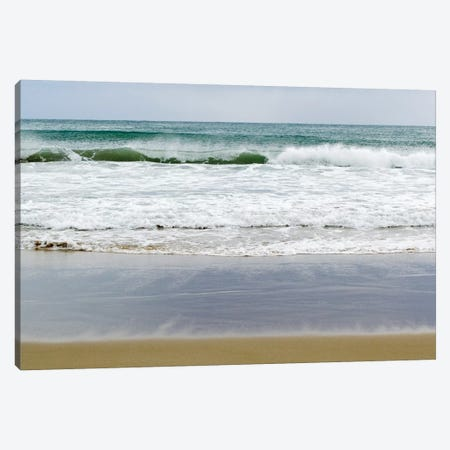 Beach Time Canvas Print #TVI1} by Toni Vila Canvas Artwork