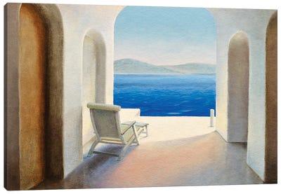 Santorini IX Canvas Art Print