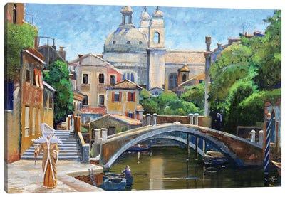 Venice Carnevale, 2000 Canvas Art Print