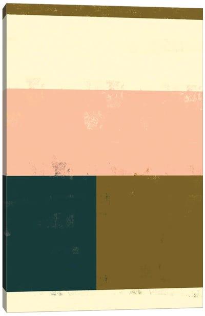 Retro Block Canvas Art Print