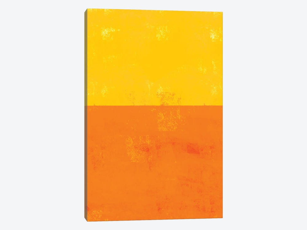 Sherbert Block by The Whiskey Ginger 1-piece Canvas Print