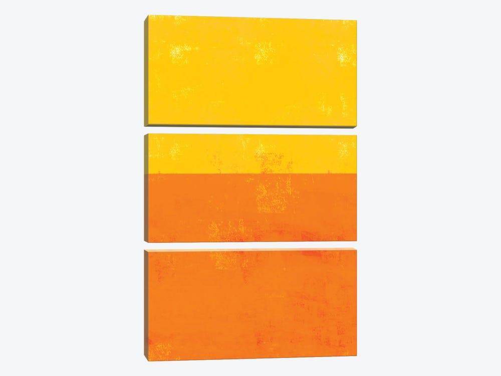 Sherbert Block by The Whiskey Ginger 3-piece Art Print