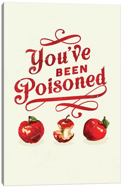 Apple Poison Art Canvas Art Print