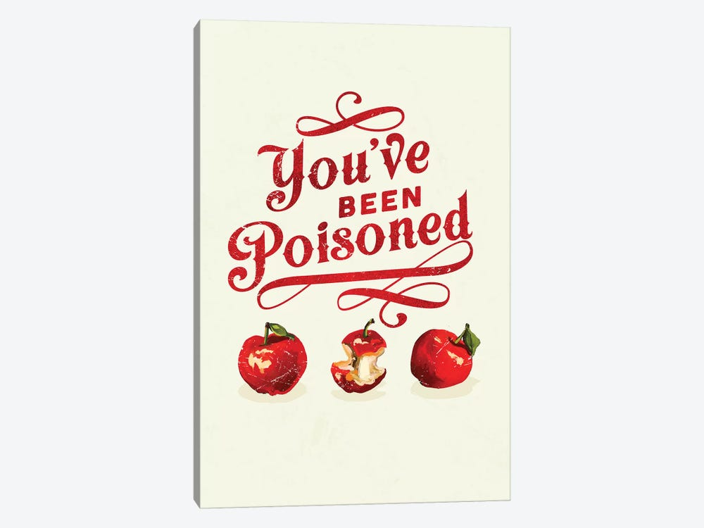 Apple Poison Art by The Whiskey Ginger 1-piece Canvas Art Print
