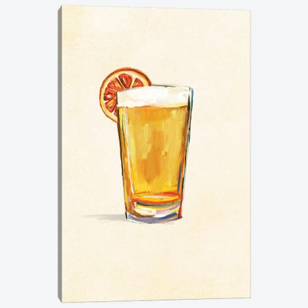 Craft Beer Blonde Solo Canvas Print #TWG24} by The Whiskey Ginger Canvas Print