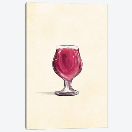 Craft Beer Gose Solo Canvas Print #TWG25} by The Whiskey Ginger Art Print