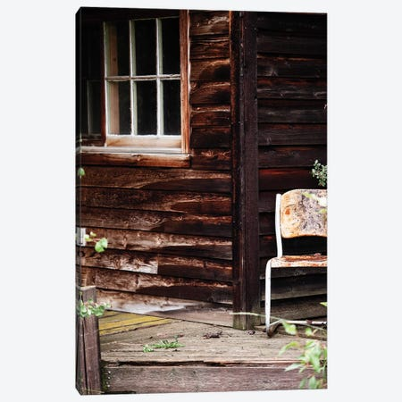Farm House Porch 3-Piece Canvas #TWG56} by The Whiskey Ginger Canvas Art