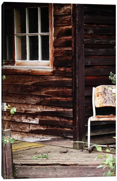 Farm House Porch Canvas Art Print