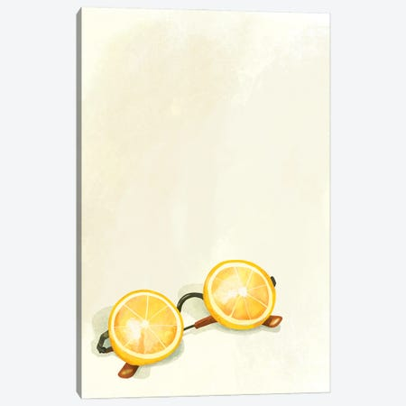 Lemon Sunglasses 3-Piece Canvas #TWG95} by The Whiskey Ginger Canvas Art