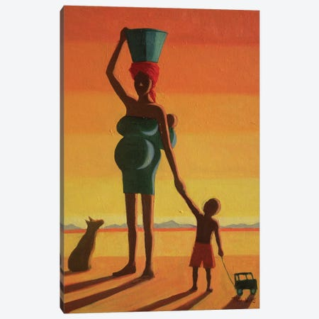Matriarch Canvas Print #TWI11} by Tilly Willis Canvas Print