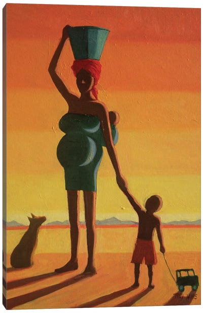 Matriarch Canvas Art Print