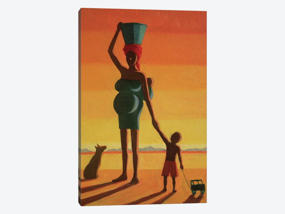 Matriarch 1-piece Canvas Artwork