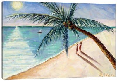 Rustling Palm Canvas Art Print