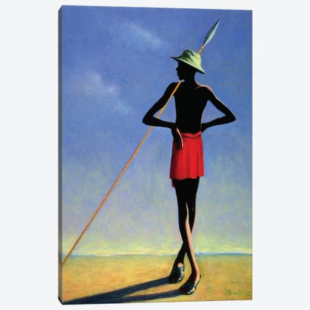 The Askari Canvas Print #TWI15} by Tilly Willis Canvas Art