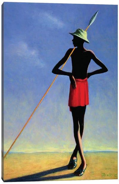 The Askari, 1992 Canvas Art Print