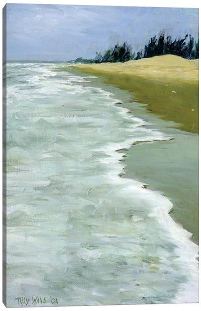 The Beach Canvas Art Print