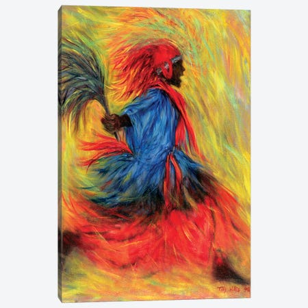 The Dancer Canvas Print #TWI17} by Tilly Willis Canvas Art