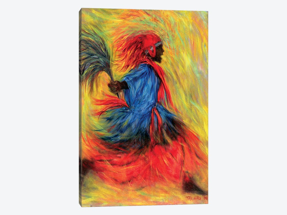 The Dancer by Tilly Willis 1-piece Canvas Artwork