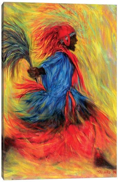 The Dancer, 1998 Canvas Art Print