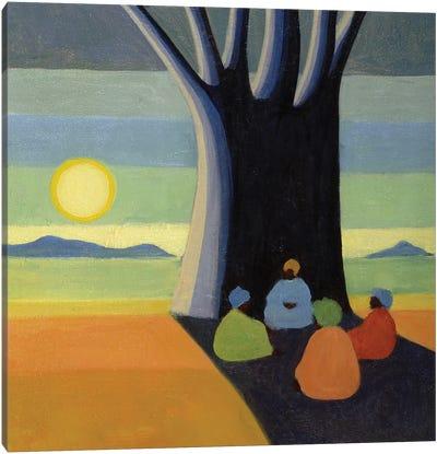 The Meeting, 2005 Canvas Art Print