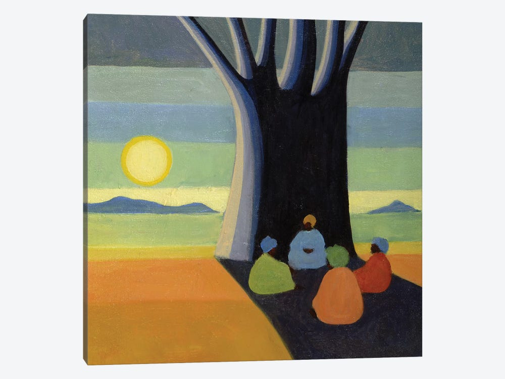 The Meeting by Tilly Willis 1-piece Canvas Art