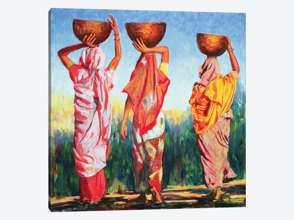 Three Women by Tilly Willis 1-piece Canvas Wall Art