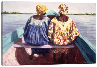 To The Island Canvas Art Print