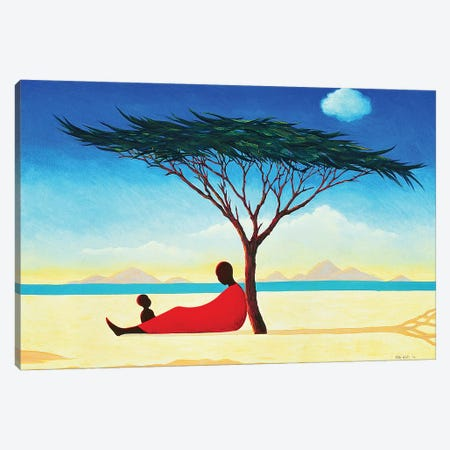 Turkana Afternoon, 1994 Canvas Print #TWI25} by Tilly Willis Canvas Art Print