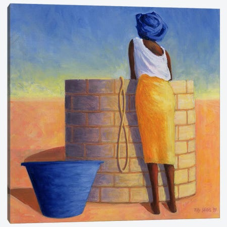 Well Woman Canvas Print #TWI28} by Tilly Willis Canvas Wall Art