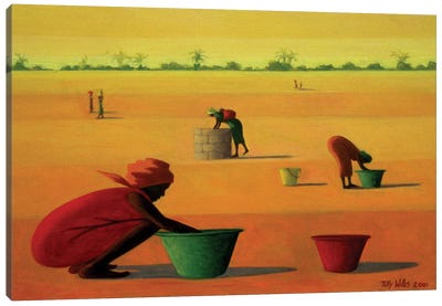 Woman's Work Canvas Art Print