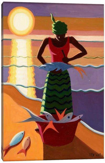 Fish Wife Canvas Art Print