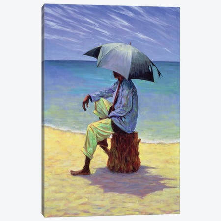 Into The Blue Canvas Print #TWI8} by Tilly Willis Canvas Art Print