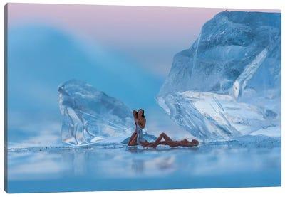 Ice Bath Canvas Art Print