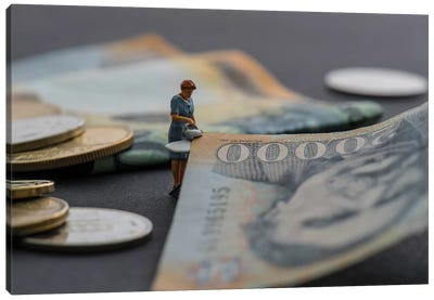 Money Laundering Canvas Art Print