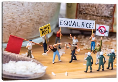 Rice Up For Your Rice! Canvas Art Print