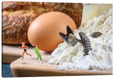 Flour Worms Canvas Art Print