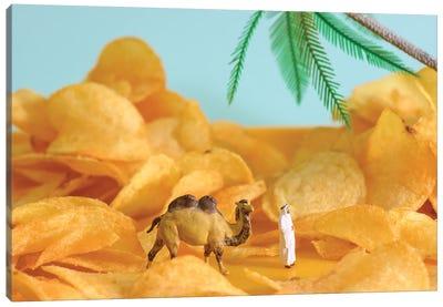 Chips Desert Canvas Art Print
