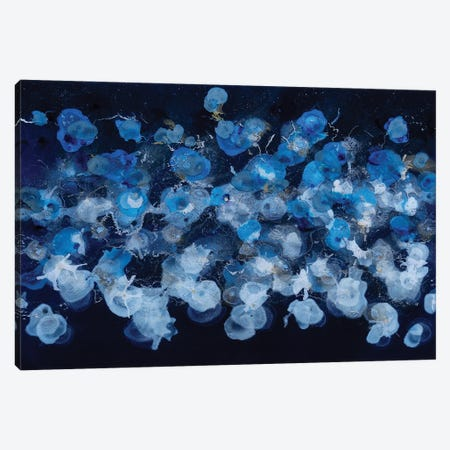 Jellyfish Canvas Print #TWM21} by Christina Twomey Canvas Art